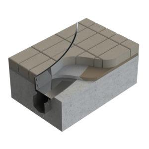 3D model of Kent's curved slot drain