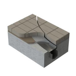 3D model of Kent's Hidden Curved Slot Drain